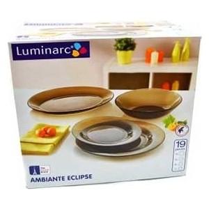 Сервиз столовый 19 предметов Luminarc Амбьянте эклипс (L5176/N1498) сервиз столовый luminarc океан эклипс 6 45 стекло