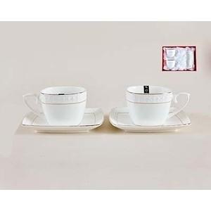 Набор чайный 4 предмета 240 мл Коралл Снежная королева (CS507009-A) цена