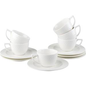 Набор пара кофейная 90 мл 6 штук Wilmax Юлия Высоцкая (WL-880107-JV / 6C)