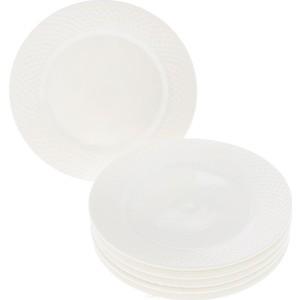Набор тарелок десертных 20 см 6штук Wilmax Юлия Высоцкая (WL-880100-JV / 6C)