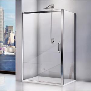 купить Душевой уголок Good Door Antares 140х90 прозрачный, хром дешево