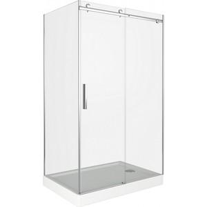Душевой уголок Good Door Galaxy 140х90 прозрачный, хром