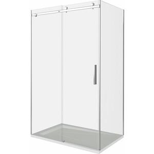 Душевой уголок Good Door Puerta 110х80 прозрачный, хром