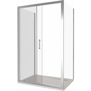Душевой уголок Good Door Latte 110х80 прозрачный, белый