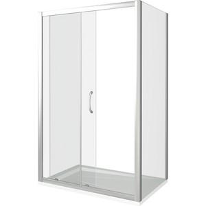 Душевой уголок Good Door Latte 110х90 прозрачный, белый