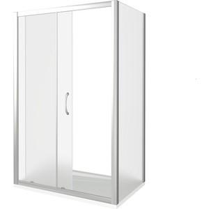 Душевой уголок Good Door Latte 110х90 матовый, белый
