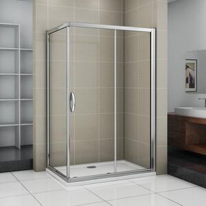 Душевой уголок Good Door Infinity 110х80 прозрачный, хром