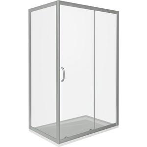 Душевой уголок Good Door Infinity 110х90 прозрачный, хром