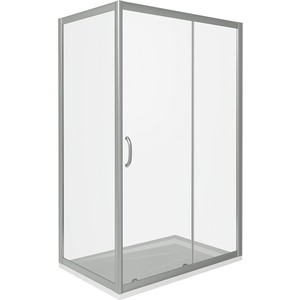 Душевой уголок Good Door Infinity 140х80 прозрачный, хром