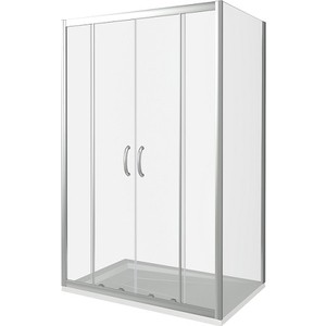 Душевой уголок Good Door Infinity 170х80 прозрачный, хром