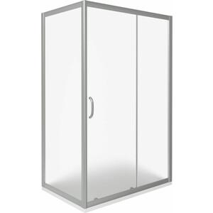 Душевой уголок Good Door Infinity 110х80 матовый, хром