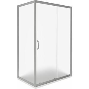 Душевой уголок Good Door Infinity 110х90 матовый, хром