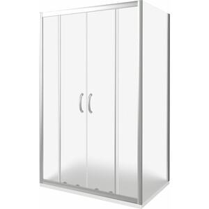 Душевой уголок Good Door Infinity 150х80 матовый, хром