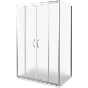 Душевой уголок Good Door Infinity 170х90 матовый, хром