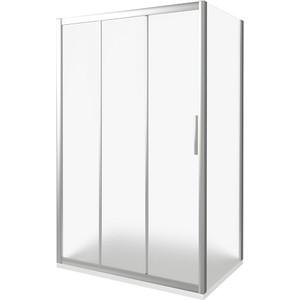 Душевой уголок Good Door Orion 110х80 матовый, хром