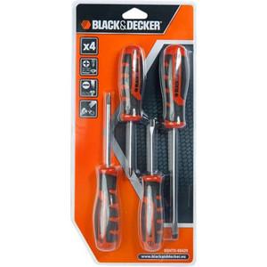 Набор отверток Black+Decker 4 шт (BDHT0-66429)