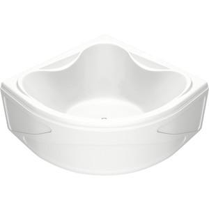 Акриловая ванна BAS Риола 135х135 с каркасом, слив-перелив, фронтальная панель (В 00030, Э 00030)