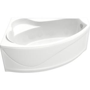 Акриловая ванна BAS Николь левая 170x100 с каркасом, слив-перелив, фронтальная панель (В 00027, Э 00027)