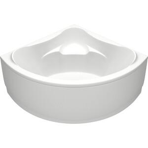 Акриловая ванна BAS Модена 150х150 с каркасом, слив-перелив, фронтальная панель (В 00025, Э 00025)