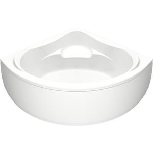 Акриловая ванна BAS Мега 160х160 с каркасом, слив-перелив, фронтальная панель (В 00024, Э 00024)