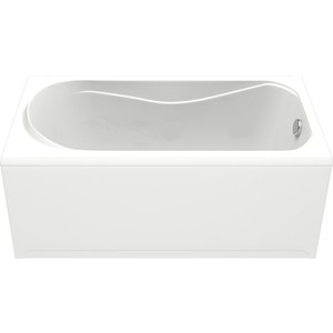 Акриловая ванна BAS Верона 150х70 с каркасом, слив-перелив, фронтальная панель (В 00009, Э 00009)
