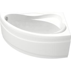 Акриловая ванна BAS Вектра правая 150х90 с каркасом, слив-перелив, фронтальная панель (В 00008, Э 00007)