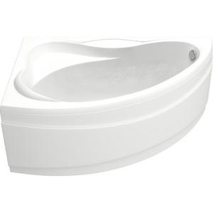 Акриловая ванна BAS Вектра левая 150х90 с каркасом, слив-перелив, фронтальная панель (В 00007, Э 00007)