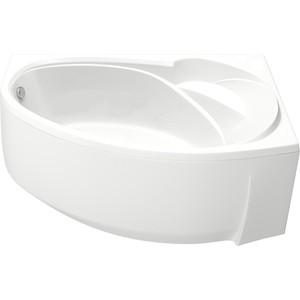 Акриловая ванна BAS Флорида правая 160х90 с каркасом, слив-перелив, фронтальная панель (В 00039, Э 00039)