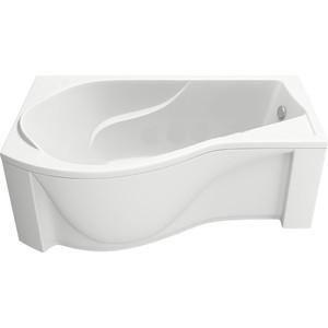 Акриловая ванна BAS Капри левая 170х94,5 с каркасом, слив-перелив, фронтальная панель (В 00015, Э 00015)