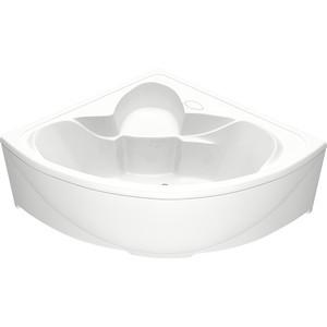 цена на Акриловая ванна BAS Дрова 160х160 с каркасом, слив-перелив, фронтальная панель (В 00010, Э 00010)