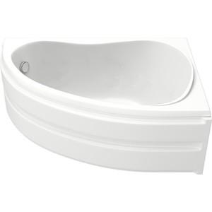 Акриловая ванна BAS Алегра правая 150х90 с каркасом, слив-перелив, фронтальная панель (В 00002, Э 00001)