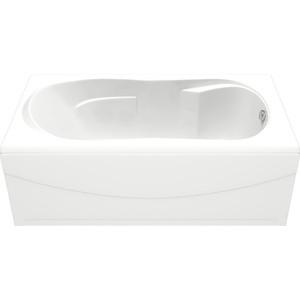 Акриловая ванна BAS Ахин 170х80 с каркасом, слив-перелив, фронтальная панель (В 00005, Э 00005)