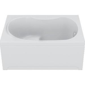 Акриловая ванна BAS Рио 105х70 см с каркасом, слив-перелив, фронтальная панель (В 00046, Э 00046)