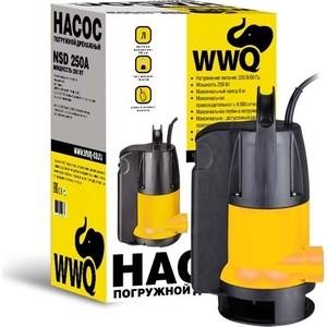 Дренажный насос WWQ NSD 450А цена