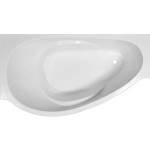 Ванна из литого мрамора Эстет Грация 170x94 см, левая, асимметричная на ножках (ФР-00000629) ванна из литого мрамора эстет грация 170x94 см левая асимметричная на ножках фр 00000629