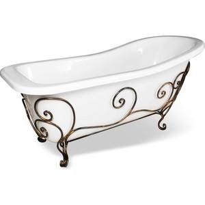Кованая подставка Эстет для ванны Царская, патина (ФР-00000721)