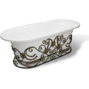 Кованая подставка Эстет для ванны Лион, патина (ФР-00001074)