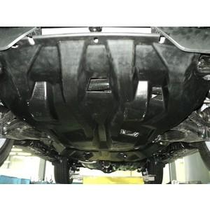 Защита картера, КПП и РК АВС-Дизайн для Lexus GX (2009-н.в.) / Toyota LC Prado 150 (2009-н.в.), композит 10 мм, 24.03k