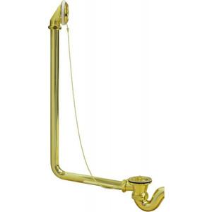 Слив-перелив для ванны Эстет Wirquin Царская/Бостон, золото (ФР-00000819)