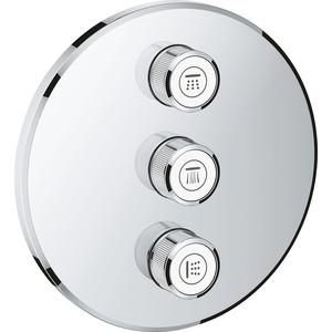 цена на Вентиль Grohe Grohtherm SmartControl накладная панель, для 35600/35601 (29122000)