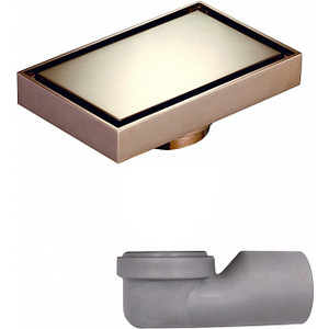 Душевой трап MAGdrain золото розовое (W04G50-RL) цена и фото