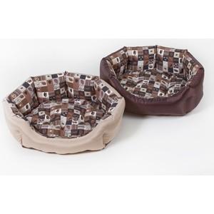 Лежанка Зоофортуна Манчестер Кафе №2 (м-259) для кошек и собак (61*17*48см)