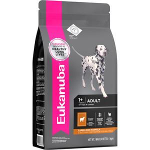 Сухой корм Eukanuba Adult Dog Lamb & Rice Formula с ягненком и рисом для взрослых собак всех пород 1кг