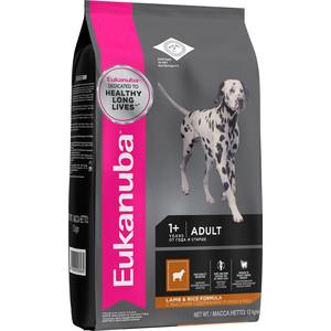 Сухой корм Eukanuba Adult Dog Lamb & Rice Formula с ягненком и рисом для взрослых собак всех пород 12кг