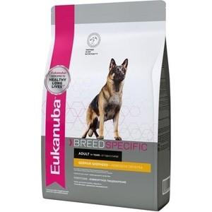 Сухой корм Eukanuba Adult Dog Breed Specific German Shepherd комфортное пищеварение для собак породы немецкая овчарка 10кг