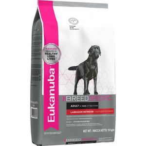 Сухой корм Eukanuba Adult Dog Breed Specific Labrador Retriever оптимальный вес для собак породы лабрадор ретривет 10кг