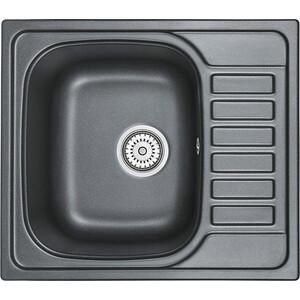 Кухонная мойка Granula GR-5801 шварц мойка кухонная granula 57 5х49 5 см черный gr 5801 черный