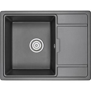 Кухонная мойка Granula GR-6503 черный кухонная мойка granula gr 4801 415х490 черный