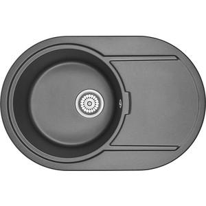 Кухонная мойка Granula GR-7603 черный кухонная мойка granula gr 4801 415х490 черный