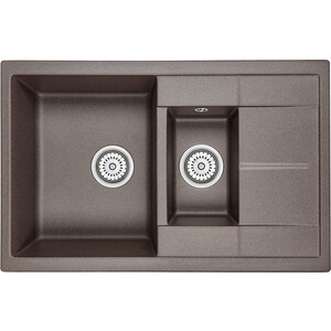 Кухонная мойка Granula GR-7802 эспрессо